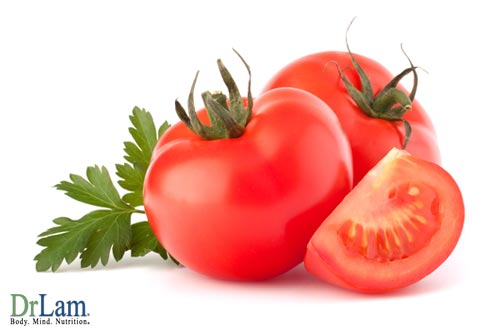 Eating tomatoes in these Anti-Aging Protocols