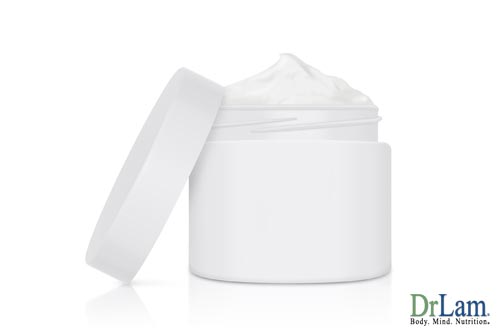 Progesterone cream and topical application