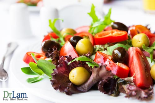 The traditional Mediterranean diet has many components