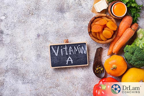 groups of foods that vitamin A is present