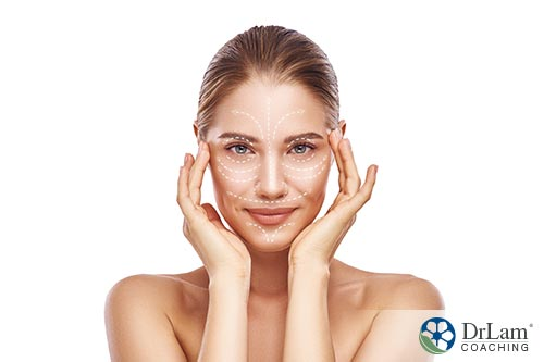 Image of a woman that is happy with acne treatment result
