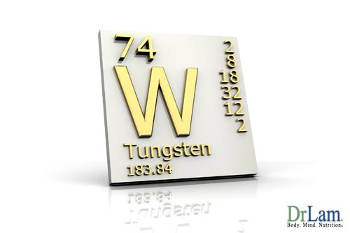 Tungsten can be one of the causes of heavy metal poisoning