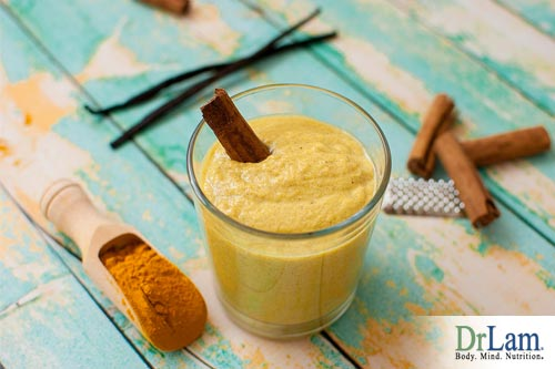 A turmeric smoothie is good for your health