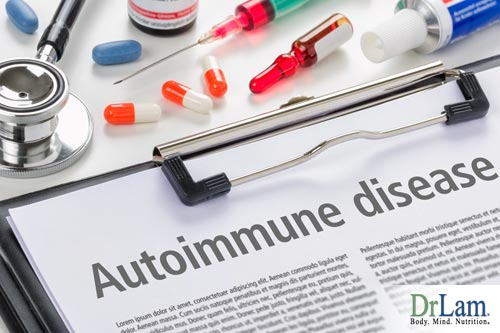 An autoimmune condition leading to adrenal fatigue