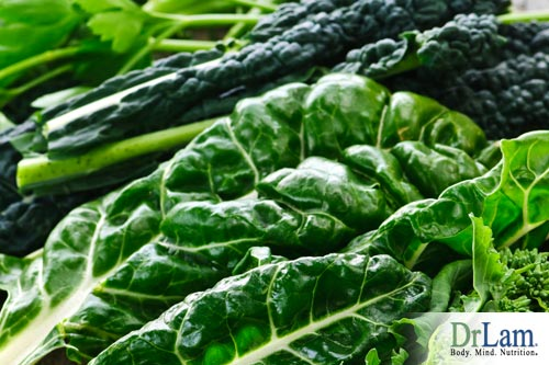 Understanding cholesterol and green leafy vegetables