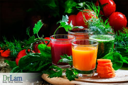 Juice fasting is good for supporting the liver in detoxification