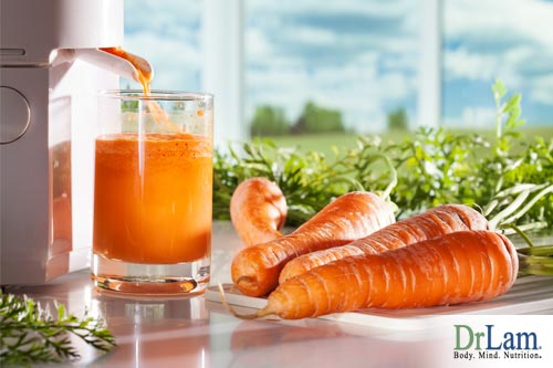 Beta carotene may help improve your heart health when following the recommended daily allowance