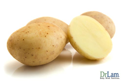 Potatoes contain a substantial amount of vitamin B complex benefits