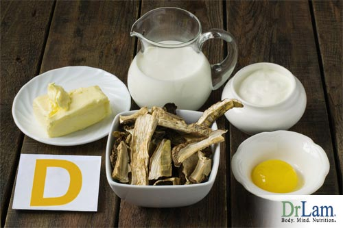 Losing muscle can be avoided by eating foods with Vitamin D