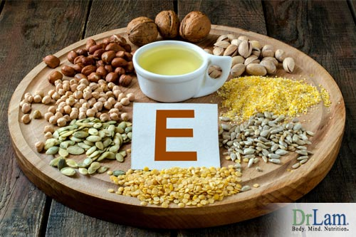Vitamin E is one of the natural anticoagulants