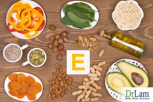 Vitamin E: Vitamins for skin health