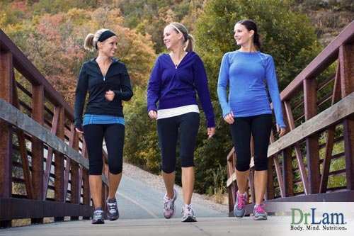 Walk your adrenal fatigue away with your friends