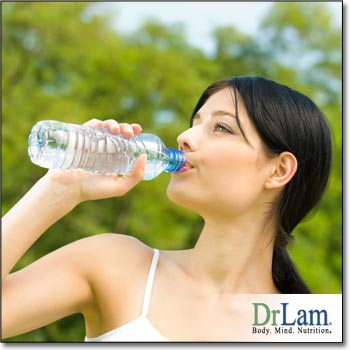 Keeping well hydrated with POTS and Adrenal Fatigue is vital