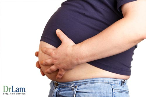 The enlargement of adipose cells causes stress and triggers the inflammatory response, causing chronic inflammation.