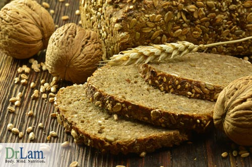 Studies show that whole grains improve emotions and can be considered mood boosting foods