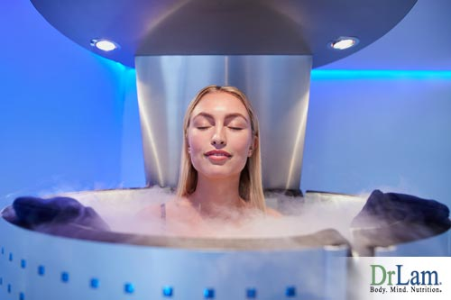 a cryotherapy chamber for cryotherapy treatment