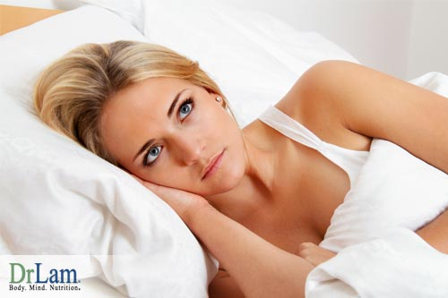You hormones can be dysregulated, another reason why sleep is important