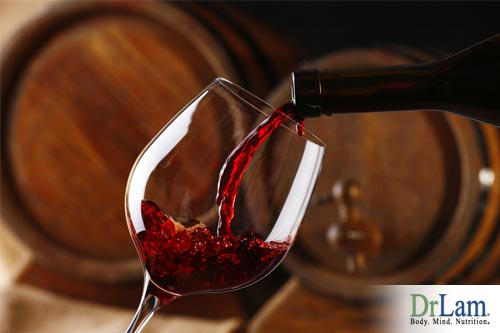 A glass of wine a night can help, as can olive leaf and cancer fighting foods